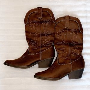 Rampage cowgirl boots